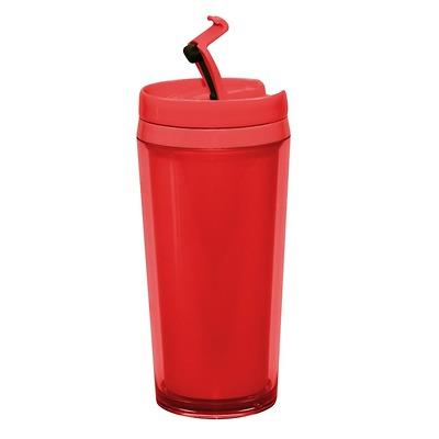 Zak! designs - Kubek z podwójnymi ściankami, czerwony